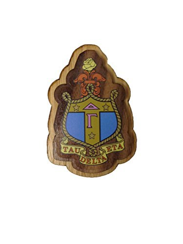 Delta Gamma Wood Crest Made of Wood for Paddle Mascot Board dg (3.5