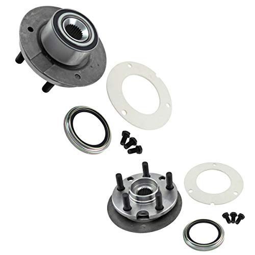 (inMotion Parts Front Wheel Bearing Hub Assembly Kit IMP518502 for Chrysler; Dodge; Plymouth, replace 518502, 2)
