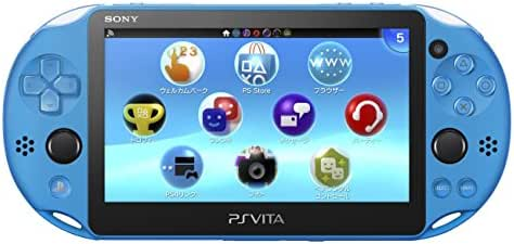 PlayStation Vita Wi-Fi model Aqua Blue (PCH-2000ZA23) Japanese Ver. Japan Import