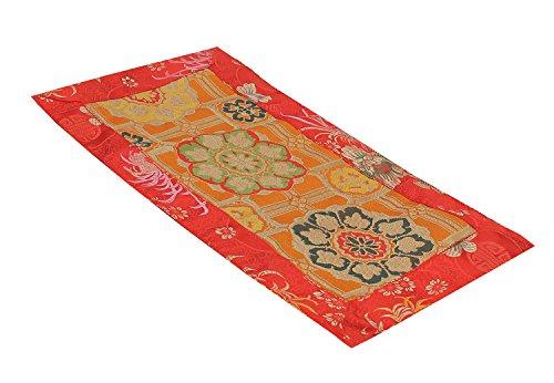 DharmaObjects Tibetan Buddhist silk brocade table runner / shrine cover / altar cloth / table cover