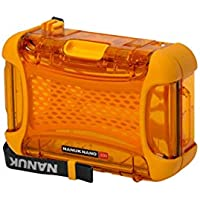 Nanuk 330-0003 Nano Series Waterproof Large Hard Case for Phones, Cameras and Electronics (Orange)
