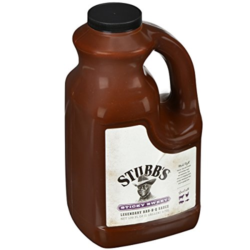 Stubb's Sticky Sweet Legendary Bar-B-Q Sauce, 1 gal (Sweet And Spicy Wing Sauce With Brown Sugar)