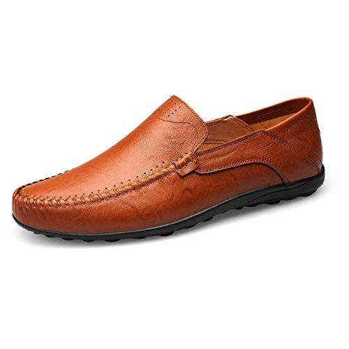 Uomini Scarpe da Marea amp;M Vuota Pelle di Scarpe degli Scarpe di M Lavoro C Scarpe Casual IwxzO
