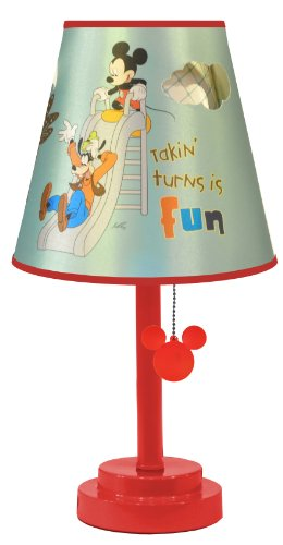 Disney Mickey Mouse Die Cut Table Lamp -