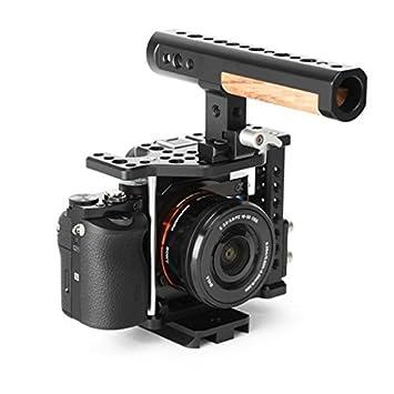 THOR - Jaula de vídeo para cámara Sony A7s (aleación de Aluminio ...
