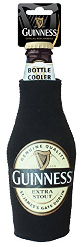 Official Guinness Merchandise Bottle Cooler With Label Design