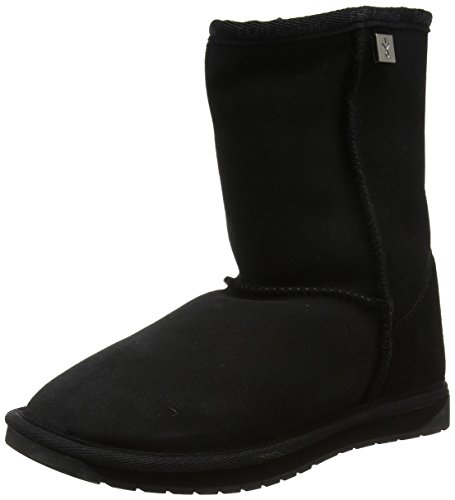 Lo Boots Ankle Platinum Black Women's Stinger Emu Black q1wSgtnT