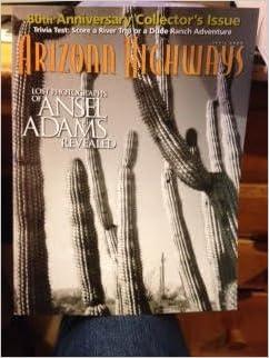 arizona highways april 2005 lost photos of ansel adams