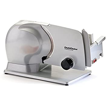 Chef's Choice 665 Professional Electric Food Slicer, Gray