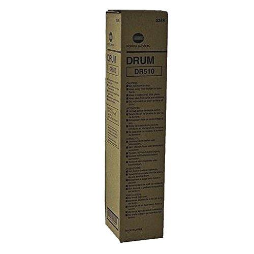 - Konica Minolta BIZHUB 360 Black Original Drum Unit (250,000 Yield)