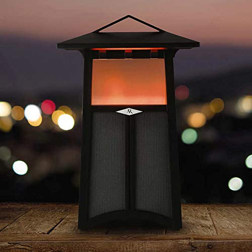 Acoustic Research Santa Cruz Bluetooth Outdoor Flame Speaker by Acoustic Research
