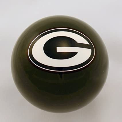 Green Green Bay Packers Billiard Pool Cue Ball FREE SHIPPING Brand New
