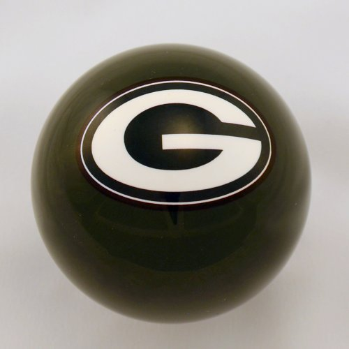 (Officially Licensed NFL Green Bay Packers Billiard Pool Cue Ball )
