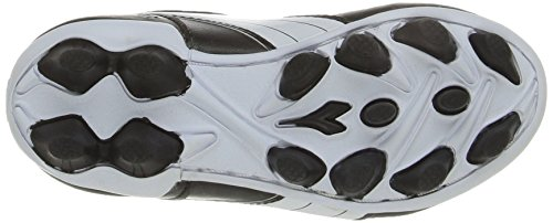 Diadora Kids' Cattura MD Jr Soccer Shoe, Black/White, 11 M US Little Kid by Diadora (Image #3)