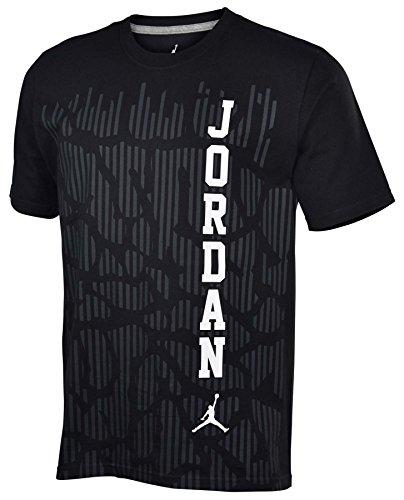 Jordan Men's Nike Retro Jumpman T-Shirt-Black-Large