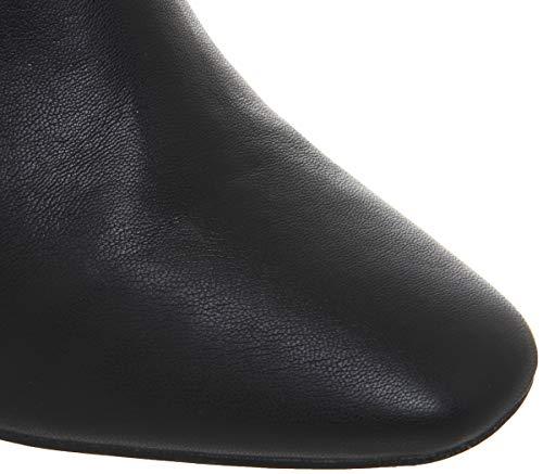 Block The Office Boots Knee Katch Black Over Heel 5wZqB7w