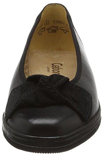 Lesley Lesley Womens Black Loafers Black Gabor Lesley Womens Gabor Gabor Loafers Loafers Womens qXq0wOt