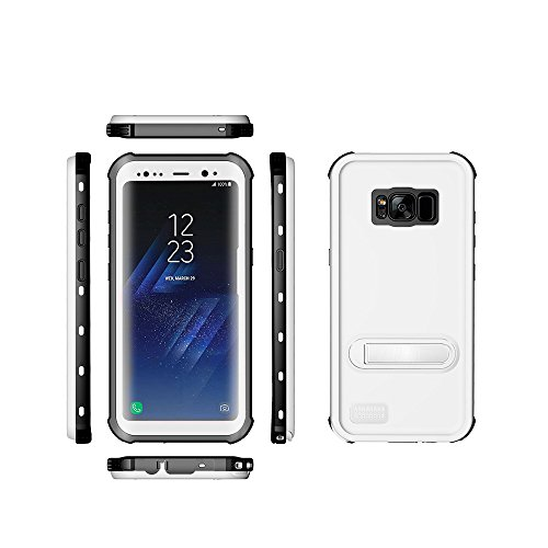 Samsung Galaxy S8 Waterproof Case, Ultra light Waterproof shockproof Dirtproof Diving Phone case for Samsung Galaxy S8 (White)