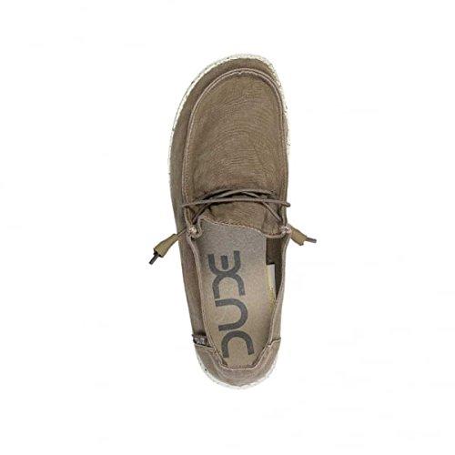 Dude Shoes Frauen Wendy Gewaschen Kastanie Braun