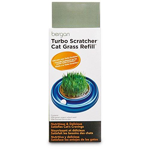 Bergan Turbo Scratcher Star Chaser Cat Grass Refill