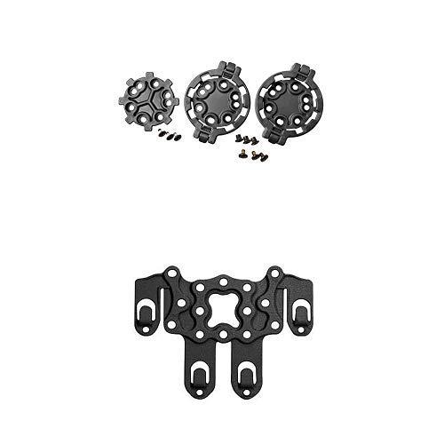 (BLACKHAWK! SERPA Quick Disconnect Kit (2 Female/1 Male), Black and Blackhawk!, Serpa STRIKE Platform, Black, Ambidextrous)