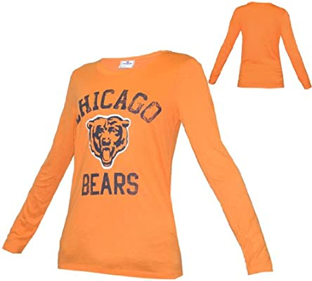 8dc13924 Amazon.com: WOMENS Pink Victoria's Secret NFL Chicago Bears Long ...