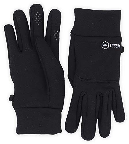 Touchscreen Running Sports Gloves - Midweight Thermal Glove Liners - Fits Men & Women