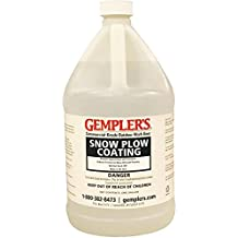 Silicone Snow Plow Coating - Ideal for Snow Plow Blades, Truck Beds, Snow Throwers, Shovels for Easier Snow Removal, 1 Gallon