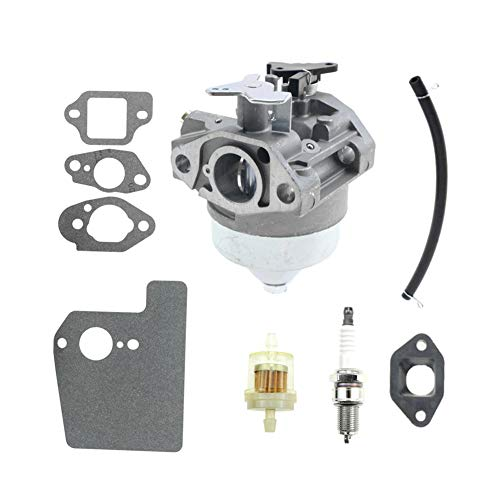 16100-Z0Y-013 Carburetor for Honda GCV190 General Purpose Engines Carb Assembly with gaskets 16211-ZL8-000 Insulator kit ()