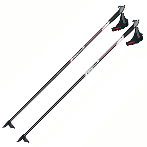 Alpina GX-10 Cross-Country Nordic Fiberglass Touring Ski Poles, 125cm, -