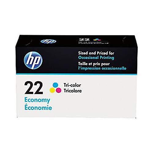 HP 22 | Ink Cartridge | Tri-color | Economy Size | B3B19AN (Printer Ink Cartridges Hp 22)