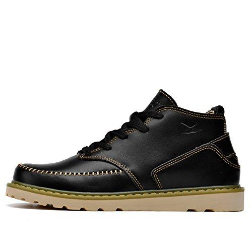 Casual Chaussures Dress Alpinisme Automne Plein Air Boots Chaussures De Sport Glisser Sur Blanc Noir duDtur4