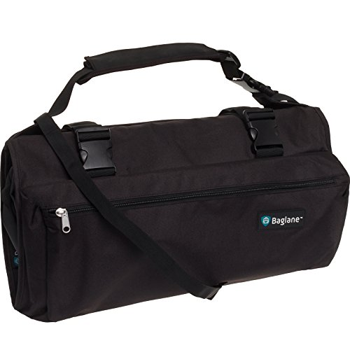 Baglane Garment Suit Bag Travel Carry On Garment Bag (Black) by Baglane
