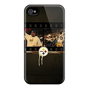 HTC One M8 Cases Covers - Slim Fit Protector Shock Absorbent Cases (pittsburgh Steelers)