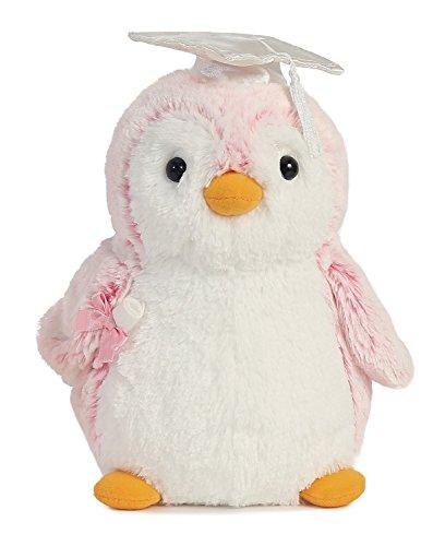 Grad PomPom Pink Penguin 9