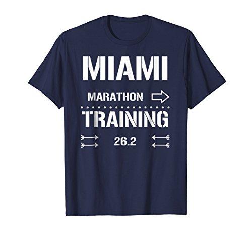 Runner Marathon Training (Mens Marathon Runners Training Tee 26.2 - Runners T-shirt Small Navy)