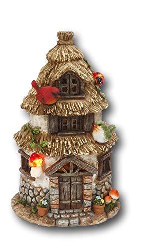 Solar Lighted Fairy House in US - 7