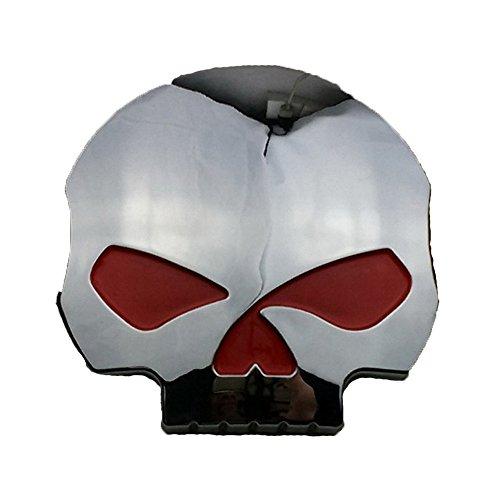 PerfecTech 3D Skull Sticker Decal Motorcycle Car Tank Emblem Badge - Motorcycle Tank Emblems