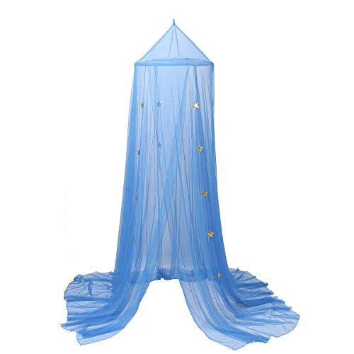 YOUOR Blue Star Mosquito Net Dome Bed Canopy Baby Bed Tents Netting Review