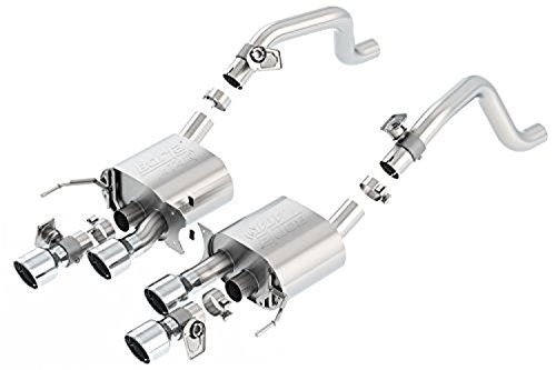 BORLA 11856 Rear Section Exhaust System for C7 Corvette (Corvette Rear Exhaust System)