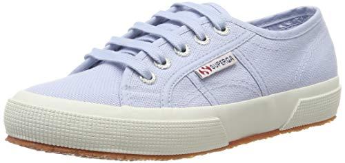 (Superga Unisex Adults' 2750-cotu Classic Gymnastics Shoes, Blue (Azure Erica 325), 5.5 UK)
