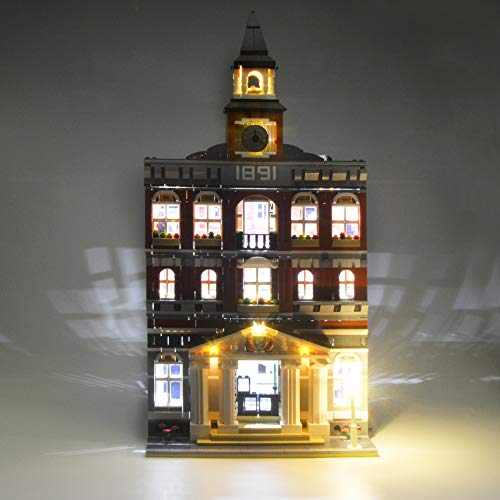 LIGHTAILING Light Set for (Town Hall) Building Blocks Model - Led Light kit Compatible with Lego 10224(NOT Included The Model)