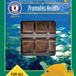 San Francisco Bay Brand ASF65225 Frozen Spirulina Brine Shrimp Cubes for Freshwater and Saltwater Fish, 3.5-Ounce