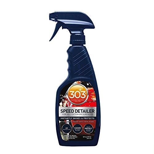 303 Speed Detailer – For All Exterior Automotive Surfaces – Instantly Shines And Protects Paint – Cleans Between Washes…