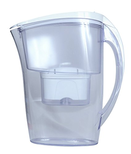 Filter Logic Water Pitcher with Filter - FJ402 Jug White ...