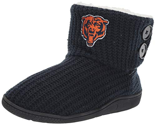 FOCO NFL Womens Knit 2 Button Boot