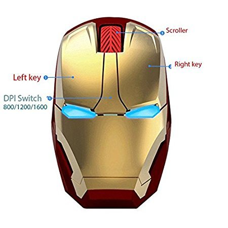 iron man mouse zeroskip
