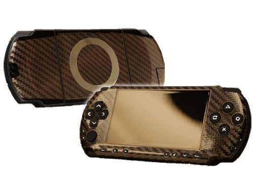 table 1000 (PSP) Skin - NEW - CARBON FIBER system skins faceplate decal mod ()