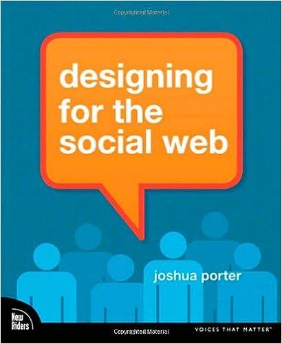 Designing For The Social Web Porter Joshua 9780321534927 Amazon Com Books
