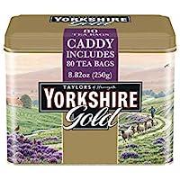 Taylors of Harrogate Yorkshire Gold Tin, 80 Teabags